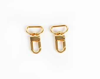 """Swivel Snap Hook 3/4"""" Gold - Pack of 2"""