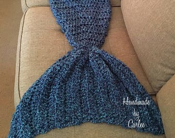 Mermaid Tail blanket, 100% handmade by owner! Made to order, mermaid tail, mermaid , mermaid gifts,mermaid lovers, gifts for kids