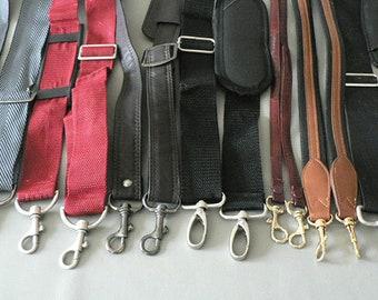 Vintage Luggage Straps, Purse Straps, ShoulderBag Replacement Straps
