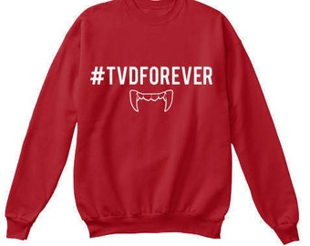 The Vampire Diaries: TVD FOREVER Sweatshirt