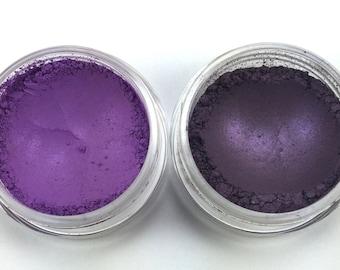 Flirt Vegan Mineral Eye Shadow Single (Dark Purple)