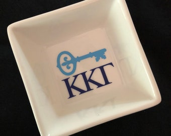 Sorority Kappa Kappa Gamma Ring Dish