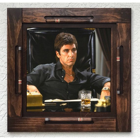 Woodenwood domino table top-Scarface-Made in USA