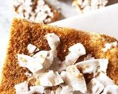 Vanilla Coconut Chip Sugar Energy Bars Organic Vegan Raw