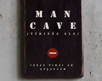 Dāvana vīrietim Man Cave (ar definīciju un bez)