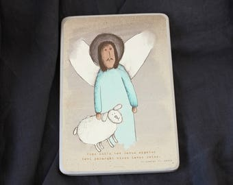 Viņš sūtīs tev Savus eņģeļus tevi pasargāt
