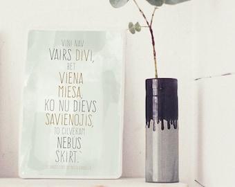 Viņi vairs nav divi, bet viena miesa /Bībeles citāts/