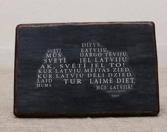 Latvijas himna-karte