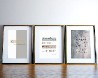 3 teksti par mājām un ģimeni /lejupielādejami faili/