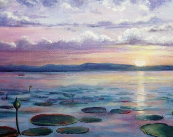 """""""Serenity"""" oil painting"""