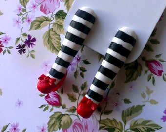 Bookmark, Bookmark wicked witch, Wizard of Oz, red slippers.