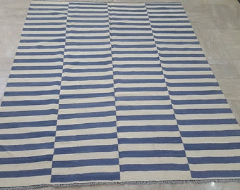 Striped Rug Etsy