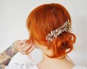 Bridal Tiara Corsage, antique jewelrybox, Myrtle Tiara 1880, Wedding Headpiece, Bridal Crown, victorian bride, Vintage Tiara, Weddinggift