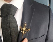 German gold dipped Myrtle Corsage 40s