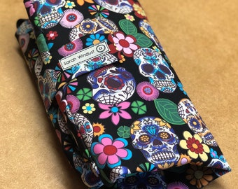 Alternative changing mat with pockets, nappy clutch, nappy wallet, diaper bag