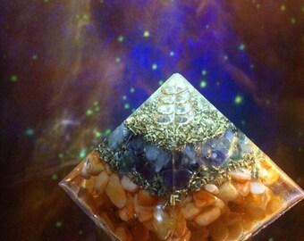 Mini orgone pyramid