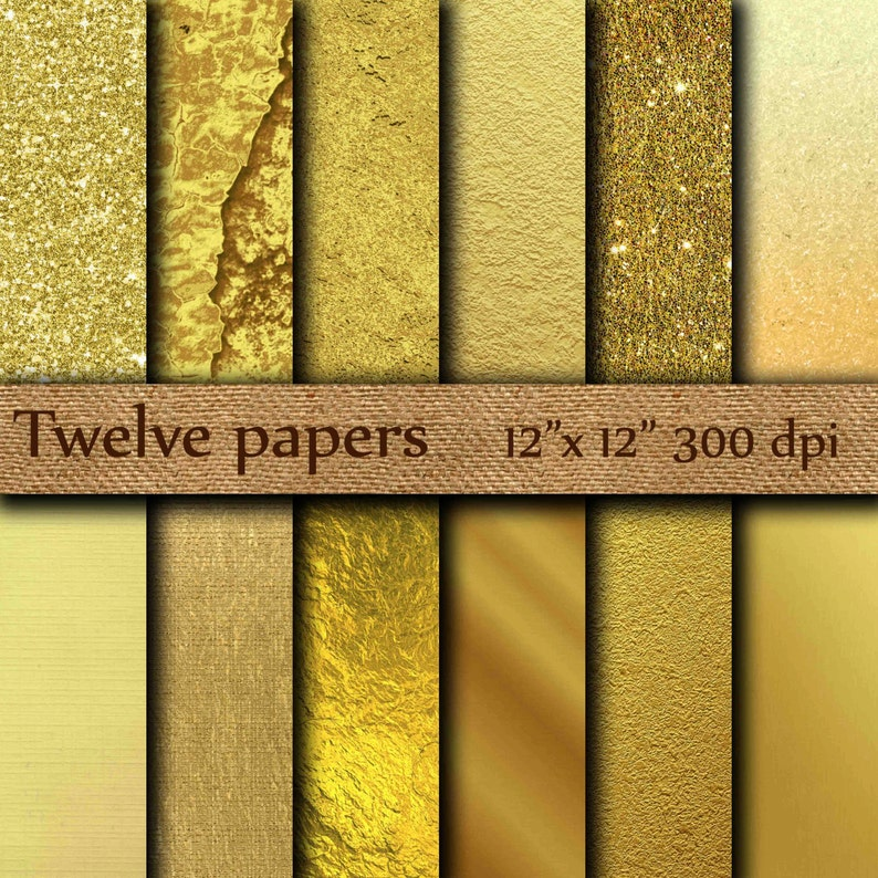 photograph about Printable Gold Paper titled Gold Foil Electronic Paper: \