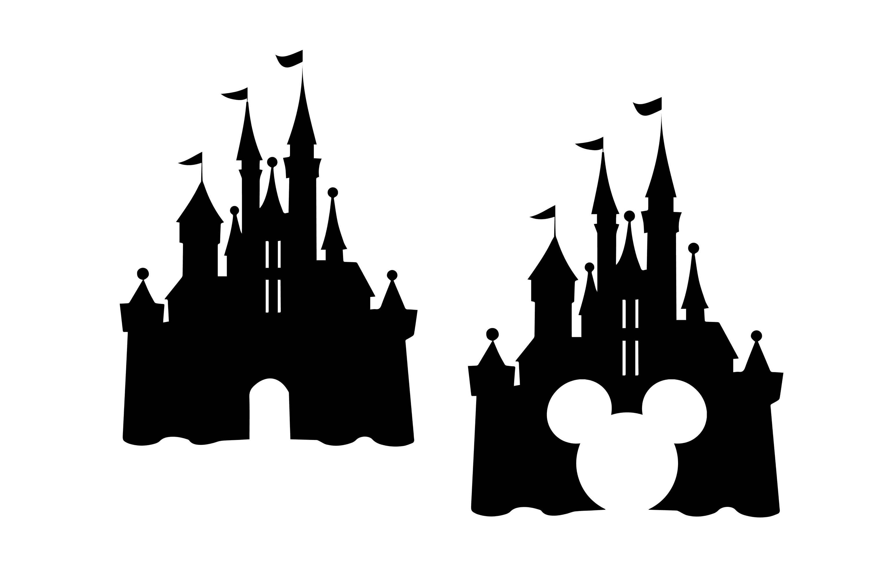 Disney castle svg Castle clipart Disney svg Disney dxf | Etsy