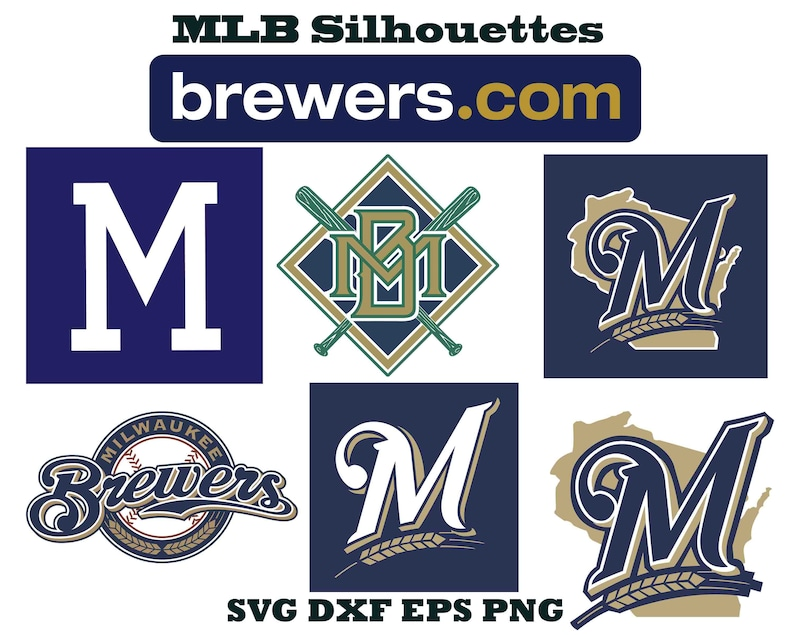 graphic about Milwaukee Brewers Printable Schedule called Milwaukee Brewers brand, Sports activities silhouette, Baseball silhouette, Brewers SVG, Brewers EPS, Brewers reduce history, Brewers cricut, printable artwork