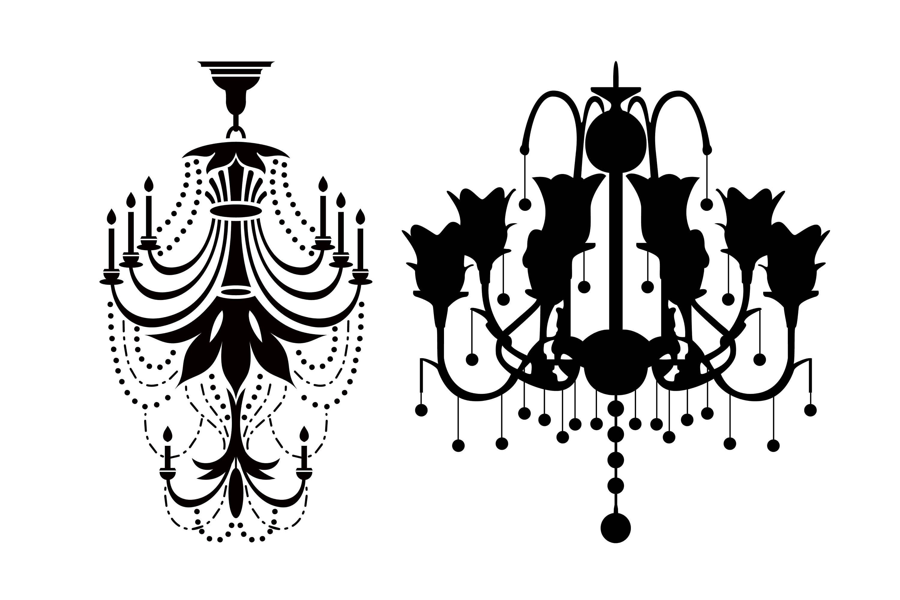 Chandelier silhouette baroque ornament chandelier svg chandelier this is a digital file aloadofball Images