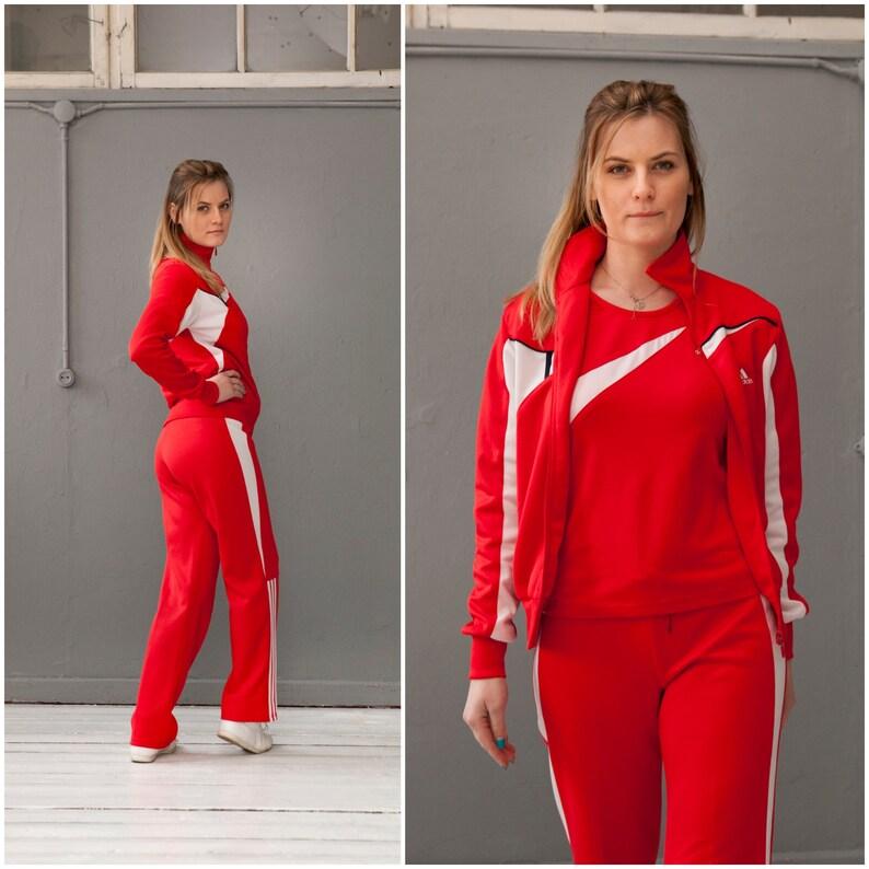 Adidas Tracksuit Three Piece Track Suit Adidas Jacket Sports  ee9eb4ba8e65
