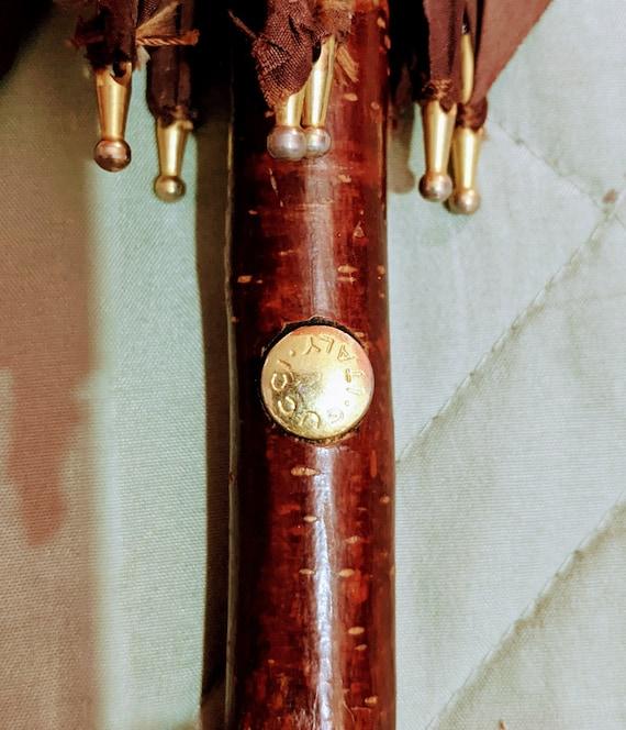 Vintage 1970's Authentic Gucci Horsebit Umbrella - image 2