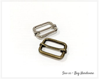 10Pcs Metal D Ring D-rings Purse Buckles For Clothes Bag Case Strap Web Belt HC