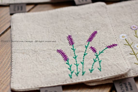 Machine Embroidery Pattern Lavender Embroidery Flower Etsy