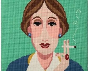 Appletons Virginia Woolf Tapestry Kit Designed by Emily Peacock