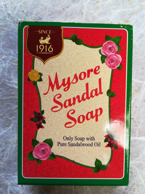 Mysore Sandalwood 2 Sandal Pure Oil Natural Homeopathy Product Soap 75g I2YHEeD9W