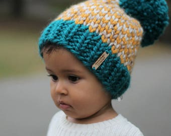 26777bfbfa4 Girl Hats Warm Hats Hand Knit Kids Hat Knit hat gift
