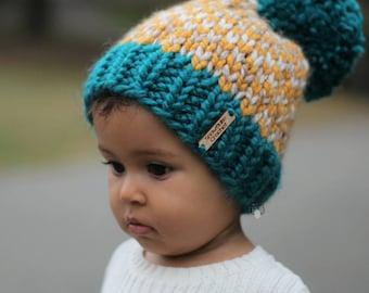 Girl Hats Warm Hats Hand Knit Kids Hat Knit hat gift 970011302b41