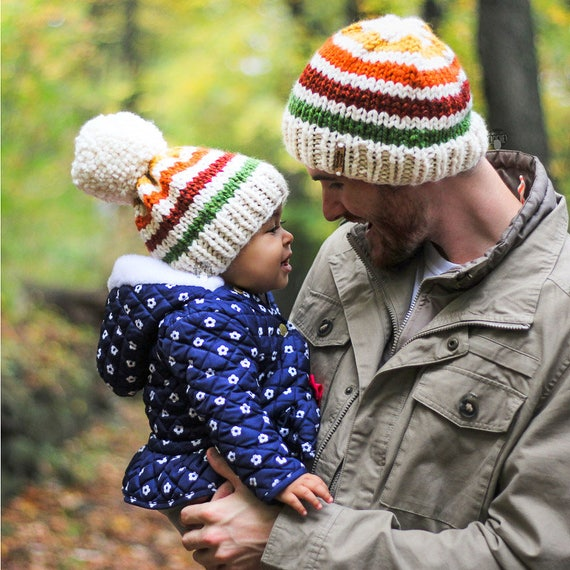 Kids slouch hat mother daughter look family look mom and me  edd050401a0