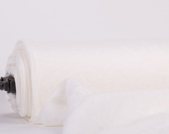 White linen fabrics