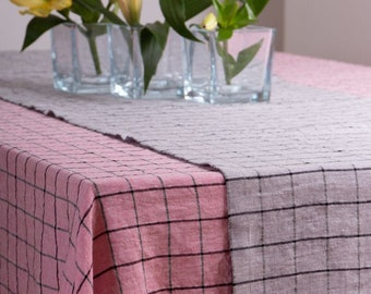 LINEN TABLECLOTH Rectangle, Square Tablecloth, Tablecloth Wedding, Rustic Tablecloth, Organic Tablecloth