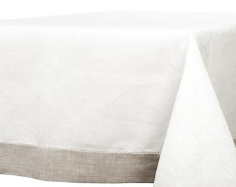 LINEN TABLECLOTH  Rectangle, Square Tablecloth, Rectangle Tablecloth, Wedding Decor