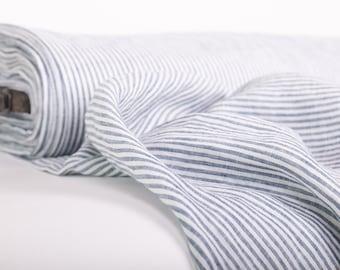 Striped linen fabrics