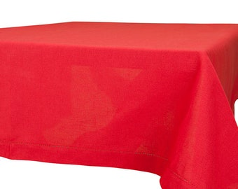 LINEN/COTTON TABLECLOTH  Linen Tablecloth Rectangle,Square Tablecloth, Rectangle Tablecloth , Tablecloth Wedding,  Kitchen Decor