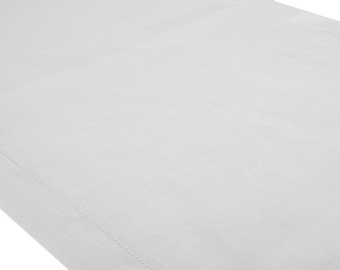 Linen runner, Table runner linen, White linen table runner, New Year decor, 100% linen handmade linen table runner
