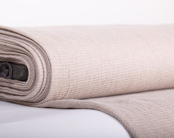 Not-dyed linen fabrics