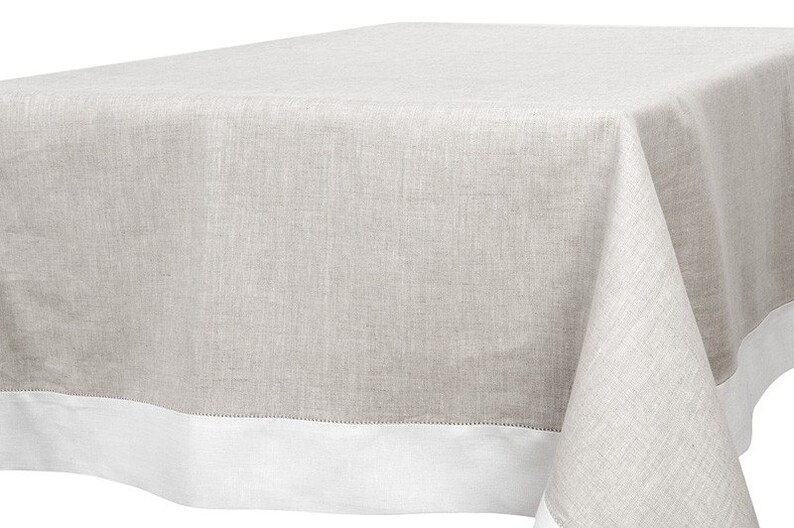 nappe en lin rectangle nappe carrée nappe mariage nappe | etsy