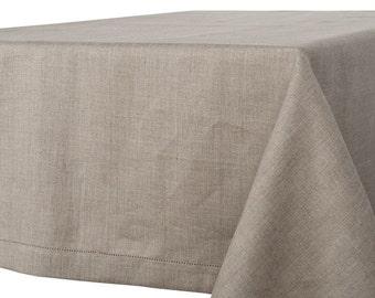 100 % LINEN TABLECLOTH RUSTIC Linen Tablecloth Rectangle,Square Tablecloth, Rectangle Tablecloth , Tablecloth Wedding,  Kitchen Decor