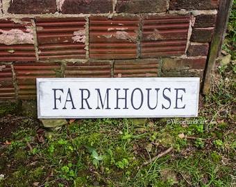 Farmhouse Sign | Rustic Farmhouse Sign | Vintage Farmhouse Sign | 7x28 | Wood Farmhouse Sign | Farmhouse Decor | Farmhouse Wall Art | Farm