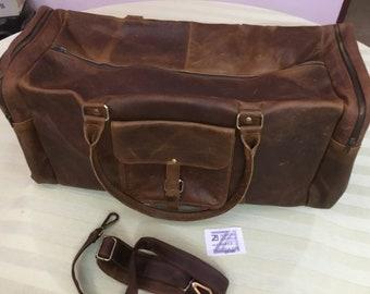 Handmade Original Hunter Buffalo Leather Executive Bag 38x27x8 cm NEW ZA-30A