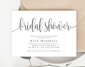 61f558907e46 Bohemian shower Bridal shower invitation printable Bridal shower template  Editable bridal shower invitation template Bridal shower invite