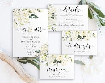 Diy Wedding Invite Etsy
