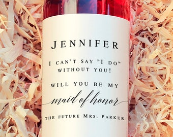 Maid Of Honor Proposal Etsy