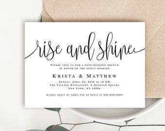 editable wedding invitation etsy