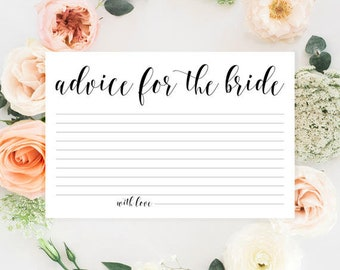 bridal shower activities advice for the bride cards bridal advice cards bridal shower advice cards cinderella bridal shower decorations
