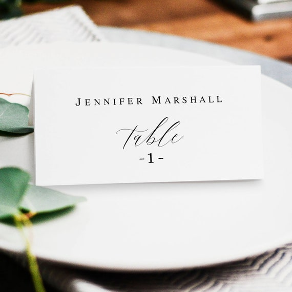 Wedding Name Cards Template Rustic Wedding Table Card Template Diy Place Cards Wedding Name Cards Printable Wedding Table Cards Diy Vm121